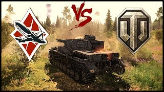 World of Tanks vs War Thunder. Детальный Обзор