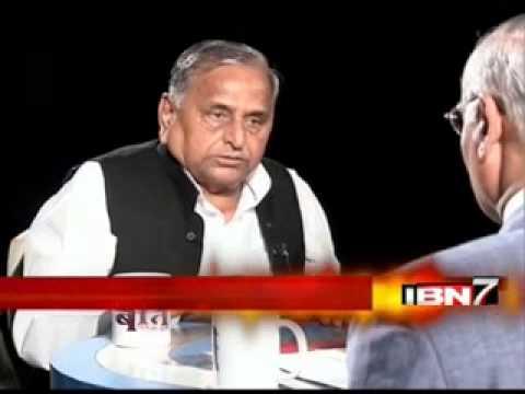 Teekhi Baat with Mulayam Singh Yadav_Prabhu Chawla_IBN7