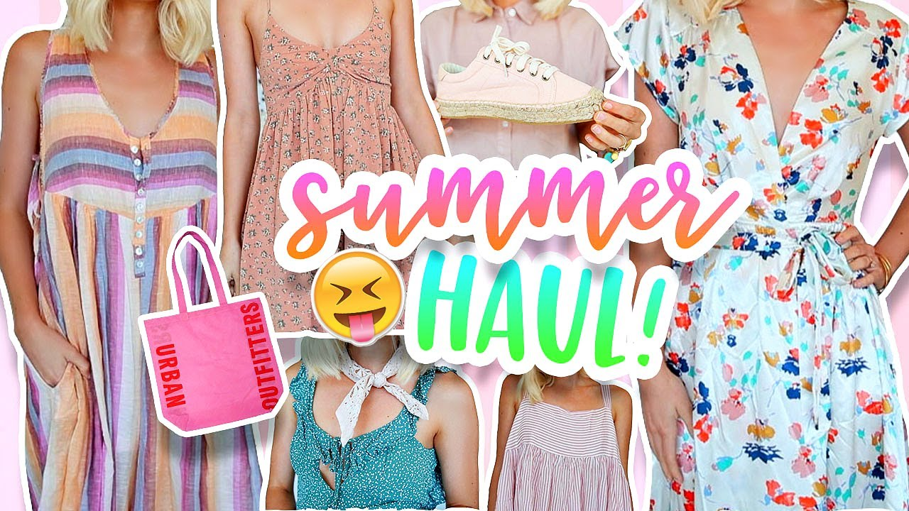 SUMMER HAUL! Urban Outfitters, Free People & More! 2017 | Aspyn Ovard
