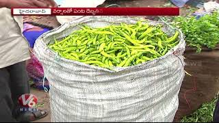 Vegetables Price Hike In Hyderabad City With Low Production