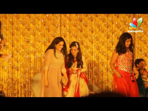 Nazriya's Mailanji Kalyanam Exclusive HD Videos I Nazriya Fahad Marriage Video