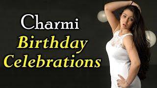 Charmi Birthday Celebrations With #iSmartShankar Team | Puri Jagannadh, Ram Pothineni |Silver Screen