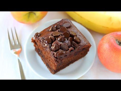 Guilt Free Chocolate Brownies Recipe - healthy and vegan