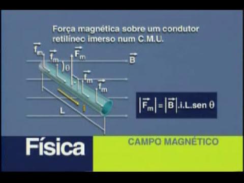 Física - Campo Magnético e Dinâmica de uma Partícula - Parte 1 - 2