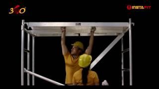 InstaFit - Aluminium Mobile Tower Scaffolding - Assembly Video