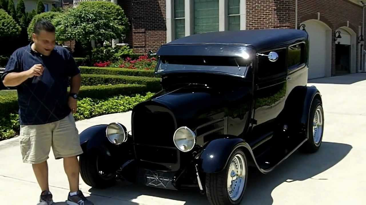 1929 Ford Steel Body Street Rod Classic Muscle Car For