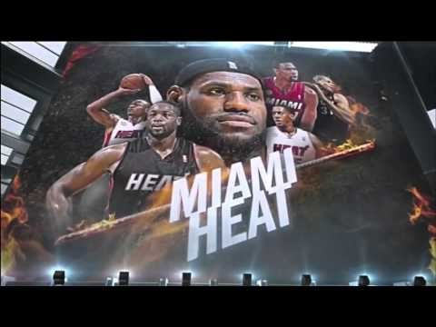 Miami Heat 2014 Playoffs Game 1 Intro | CHA vs MIA