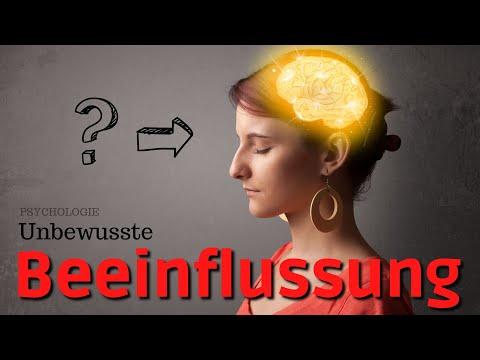 Psychologie der unbewussten Beeinflussung - Priming und subliminale Manipulation