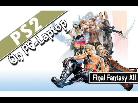 Final Fantasy XII (PCSX2 v1.2.1) PS2 Emulator on PC-Laptop