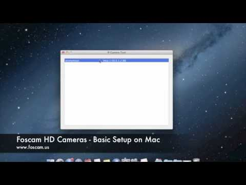 Foscam HD Cameras - Basic Setup on Mac