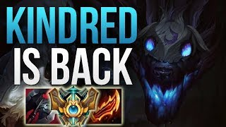 PATCH 8.12 CHANGES MADE KINDRED GOOD AGAIN | CHALLENGER KINDRED JUNGLE GAMEPLAY | Patch 8.12 S8