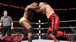 Henry, Titus O'Neil, R-Truth & Neville vs. Breeze, Stardust & The Ascension: Raw, 18. Januar 2016