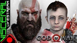 [🔴] God of War │ 1º run - Ep.7 - Hard - PTBR │ Explorando TUDO, Foco no JOGO!!!