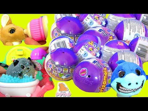 #Surprise Pets Series 5 Сюрпризы ПИТОМЦЫ Baby Pets Surprizamals #Распаковка с МАЙ ТОЙС ПИНК!