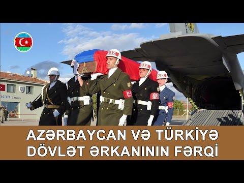 Azərbaycan Və Türkiyə Dövlət ərkanının Fərqi #312