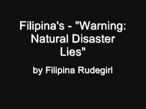 Online Chat Warning - Natural Disasters Trick - Philippines