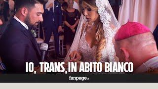 Alessia, la prima trans che ha celebrato il matrimonio religioso nonostante il Vaticano