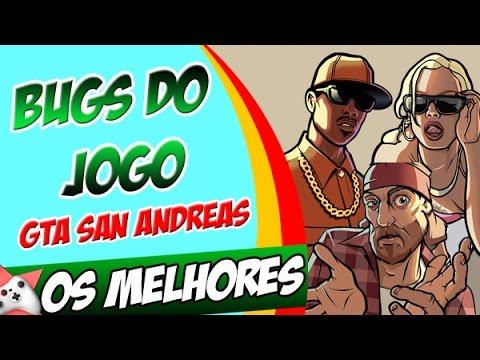 GTA San Andreas Os Melhores Bugs do jogo