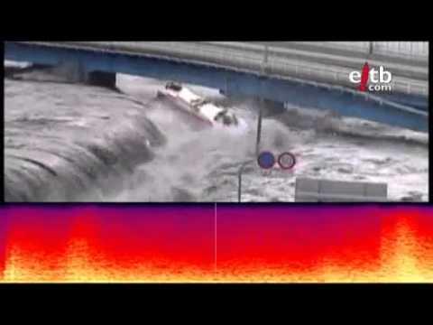 Suara Mengerikan Gempa di Jepang