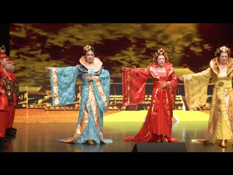 Chinese, Arab Traditional Dresses Showcased in Dubai Fashion Show