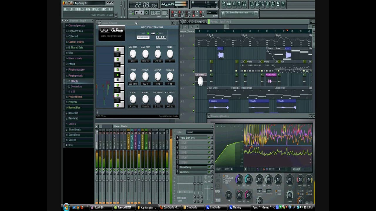 how to make a rap song in fl studio