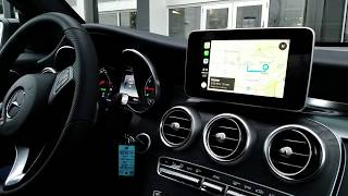 Apple CarPlay on 2018 Mercedes-Benz GLC300
