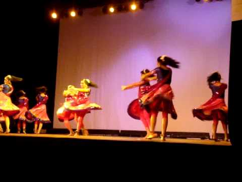 Nritya Creations Academy of Dance performs to Pagla Hawa at...