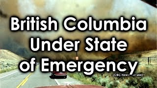 State of Emergency Declared in British Columbia Canada