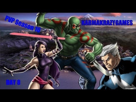 Marvel Avengers Alliance PVP Season 16 Day 8