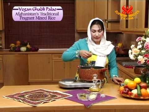 Vegan Ghabli Palao, Afghanistan's Traditional Fragrant Mixed Rice In Dari