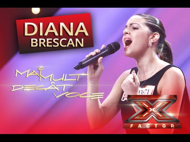 """Oana Sârbu - """"Te iubeam"""". Vezi aici cum cântă Diana Brescan la X Factor"""