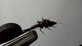Fly-Tying: Large Black Stonefly Nymph