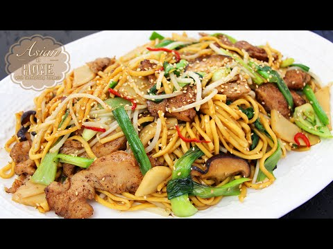 Chicken Chow Mein : Easy Stir-fried Noodles Recipe