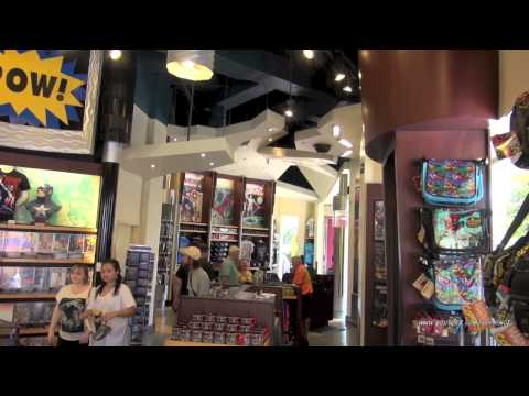 Comic Book Store Marvel Super Hero Island at Islands of Adventure Universal Orlando Resort