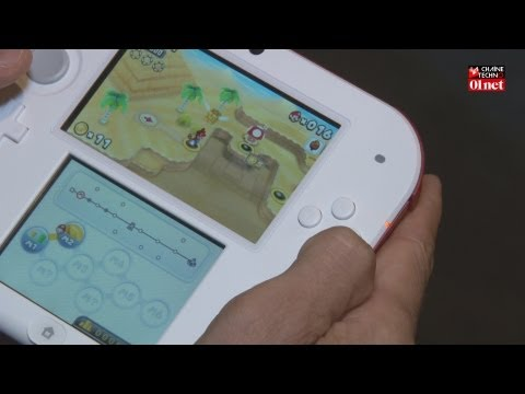 Prise en main de la console Nintendo 2DS
