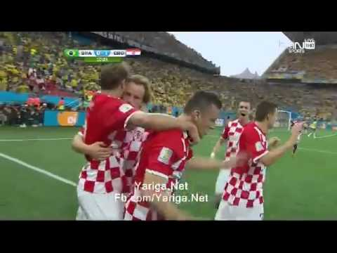 World Cup 2014 Brazil 0 1 Croatia Marcelo Own Goal
