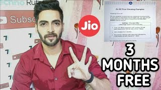 JIO Broadband 3 months Free Service (JIO Fiber Preview Offer)