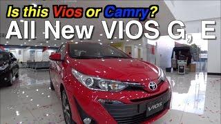 2019 Toyota VIOS G, E Philippines  Interior Exterior Comparing & Underbody