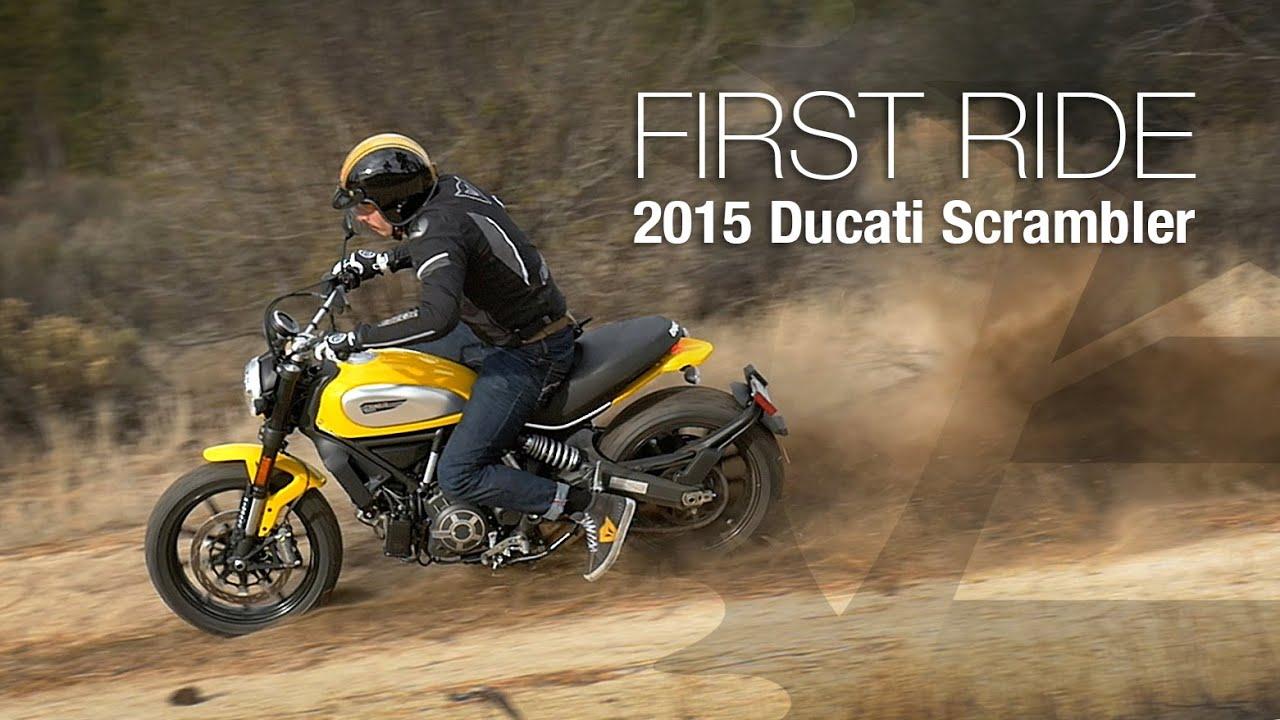 Ducati Scrambler Review