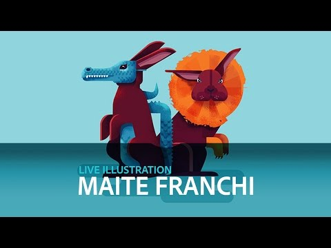 Live Illustration with Maite Franchi - DAY 1/3