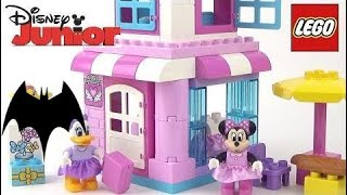 LEGO DUPLO Disney Junior Minnie Mouse Bow-tique (10844) - Toy Unboxing, Build & Play HD