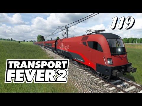 Transport Fever 2 S6/#119: Unsere Mitfahrt mit dem schönen Railjet [Lets Play][Deutsch]