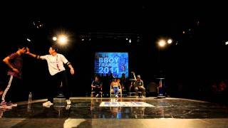 Bboy France 2011: Bboy Billy Boy vs. Bboy Khalil | Quarter Final
