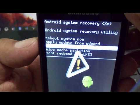 Instalar ClockworkMod recovery Samsung Galaxy Ace