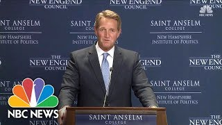 Senator Jeff Flake On Running For President: Odds Are Long, 'But I Have Not Ruled It Out' | NBC News