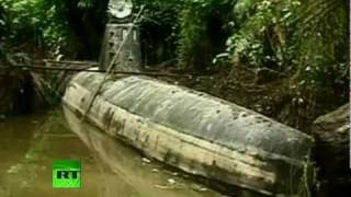 Narcosub: 'Drug Submarine' seized in Colombia