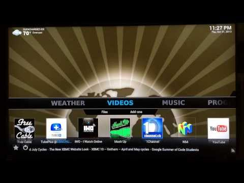 How to add the XUNITY Source to XBMC Gotham & Frodo