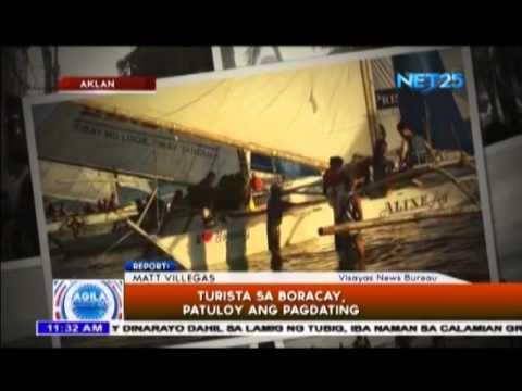 Isla ng Boracay, dinarayo ng mga turista