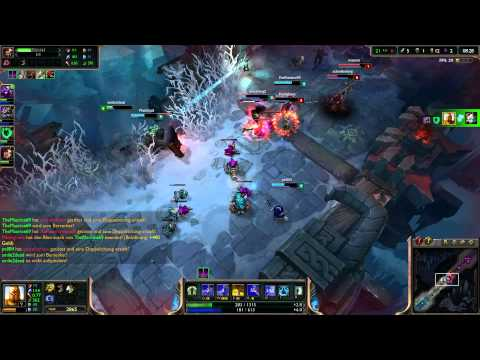 League Of Legends  Kayle And Kate Aram Quadra Kill video