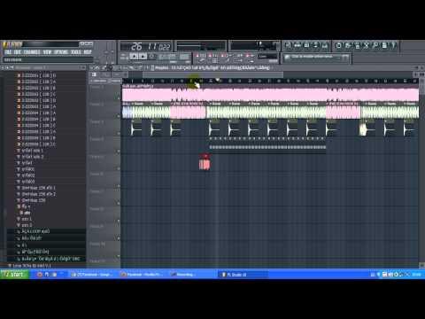 สอนใช้ fl studio 10 มิกเพลง   l3y DJ CHECK NCC Remix